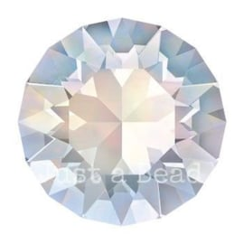 1028 Xilion Chaton puntsteen 2,4 mm / PP 18 White Opal F (234)
