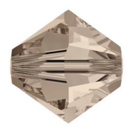 5328 biconische kraal 6 mm greige (284)