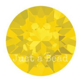 1088 Xirius Chaton puntsteen 8,2 mm / SS 39 Yellow Opal F (398)