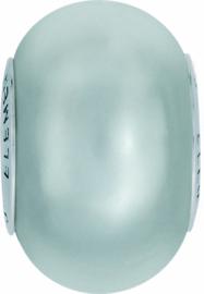 5890 BeCharmed 14 mm Crystal light grey pearl Steel (001 616)