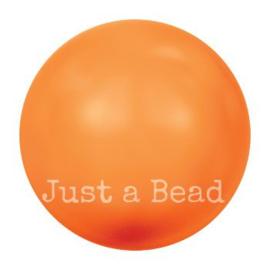 5817 8 mm Crystal neon orange pearl (001 NOPRL)