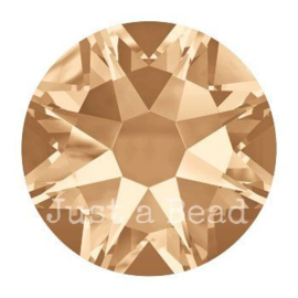 2028 plaksteen 7,2 mm / SS 34 Crystal golden shadow F (001 GSHA)