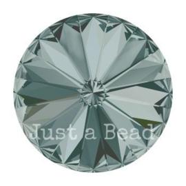1122 rivoli 10mm puntsteen SS47 black diamond F (215)