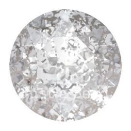 1088 Xirius Chaton puntsteen 6,10 mm / SS 29 Crystal silver patina F (001 SILPA)