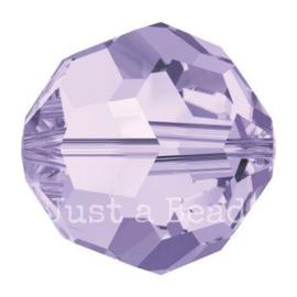 5000 kraal rond facet 8 mm violet (371)
