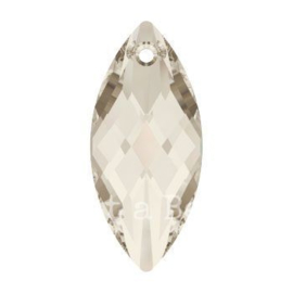 6110 Navette Pendant  40 x 18 mm crystal silver shade  (001 SSHA)