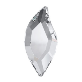 2797 Diamond Leave 8 x 4 mm Crystal F (001)