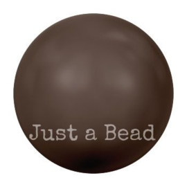 5818 8 mm Crystal deep brown pearl (001 414)