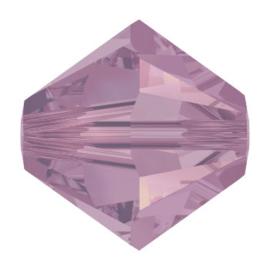 5328 biconische kraal 3 mm cyclamen opal (398)