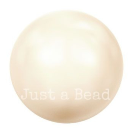 5810 12 mm Crystal cream rose light pearl (001 618)