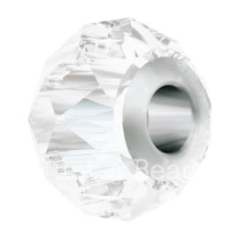 5940 BeCharmed Briolette Bead 14 mm Crystal Steel (001)