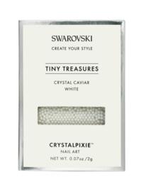 "Crystal Pixie ""Tiny Treasures"" Crystal Caviar White"