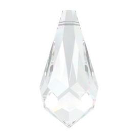 6000 hanger 18 x 9 mm crystal (001)