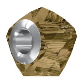 5920 BeCharmed Helix Bead 14 mm Crystal bronze shade Steel (001 BRSH)