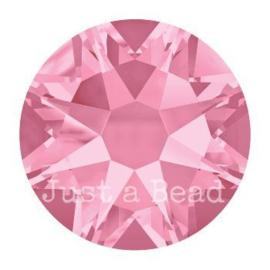 2028 plaksteen 6,5 mm / SS 30 light rose F (223)