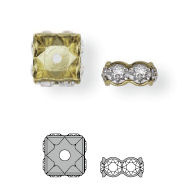 177610 Rondelles PP24 Crystal AB (001 AB)