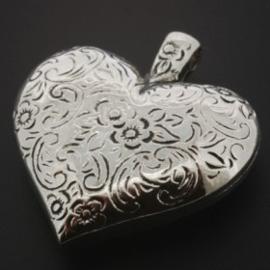 kunststof hanger hart bewerkt AS 40 x 36mm