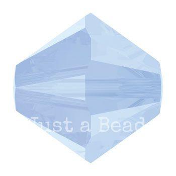 5328 biconische kraal 4 mm air blue opal (285)