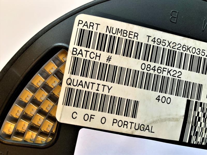 QTY=10pcs 100uF 16V D Case 20/% AVX TAJD107M016RNJ Tantalum Capacitors /_/_/_