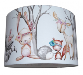 Hanglamp forest friends boho