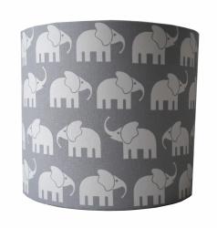 Wandlamp olifantjes grijs