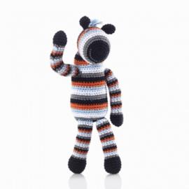 Pebble rammelaar - Zebra