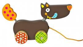 Ebulobo trekfiguur mini wolf