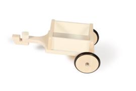 Scratch aanhanger voor loopfiets 4 wielen