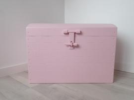 Speelgoedkist groot ballerina roze