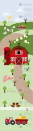 Groeimeter poster boerderij