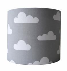 Wandlamp wolk grijs/wit