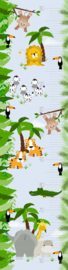 Groeimeter poster jungle