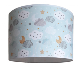 Kinderlamp starry night blue