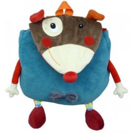 Ebulobo rugzuk hond clown Gustave