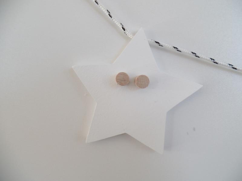 Houten slinger sterren