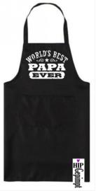 Keukenschort - Worlds best papa ever