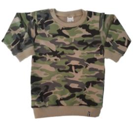 Sweater Jurk - Camo Groen