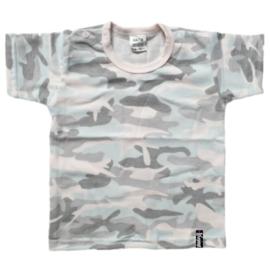 Baby shirt - Camo Roze