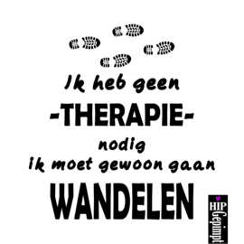 Ik heb geen therapie nodig....