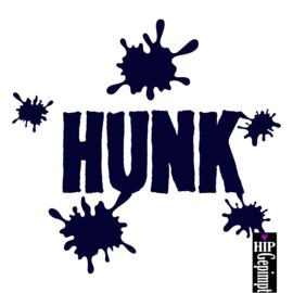 Hunk sticker