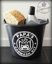 Sticker Carewash Papa of Opa