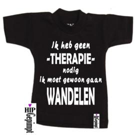 Mini Shirt - Therapie Wandelen