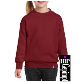 Sweater Kids - Wijnrood