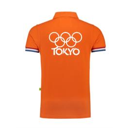 Olympische spelen Tokyo Polo NL.vlag