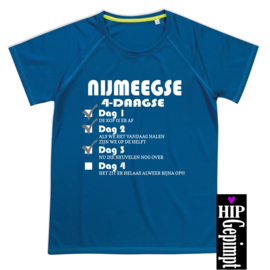Hip Gepimpt - 4-daagse vinkjes shirt