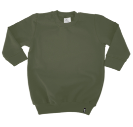 Sweater Jurk - Groen