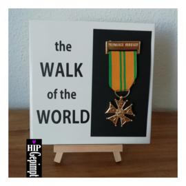the Walk of the World - met spelt