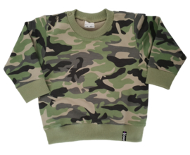 Sweater - Camo Groen