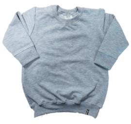 Sweater Jurk - Grijs