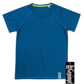 Technische shirt - Blauw